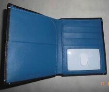 Travelsmith Black Leather Passport Holder Wallet - ID & credit card slots - NIB