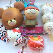 Rare Japanese Squishy Set Bundle Cell Phone Strap