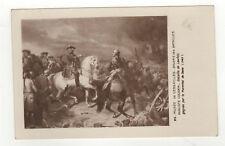 cpa la Bataille de Lawfeld gagnée par Maréchal de Saxe Edition des Musées/L459