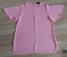 Atmosphere Pink Short Sleeve Top Size 10