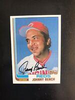 1982 TOPPS #400 JOHNNY BENCH HOF CIN REDS— HIGH END💥*** (wph)