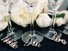 Boda Personalizado Madera Amor Etiqueta Vino Charm Rústico Detalles Fiesta