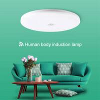 18W Modern LED PIR Motion Sensor Round Ceiling Light Hallway Corridor Wall Lamp