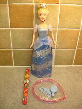 Disney Cinderella 30cm Doll + a Cinderella`s Girls Wrist Watch + Accessories