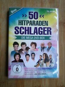 50 Hitparaden Schlager - Die Mega-DVD Box 3er Set