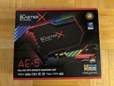 Creative Sound BlasterX AE-5 Hi-Res 32-bit/384 kHz PCIe Gaming Sound Card