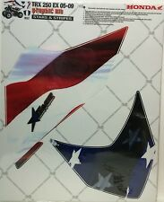 AMR Racing Graphics Kit Clearance Sale For Honda TRX 250EX 06-14 STARS & STRIPES