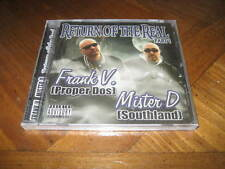 Chicano Rap CD Frank V & Mister D Return of the Real Part 1 Malow Mac Kid Frost