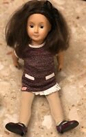 """Our Generation American Doll 18"""" Girl Baby Doll - Blonde / Blue eyes freckles"""