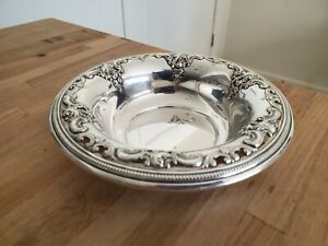 Wallace Grande Baroque 4850-9 Sterling Silver Bowl Dish  Tray 170g 6 3/4""