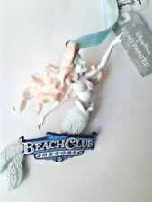 Disney World Beach Club Resort Ariel Sculptured Ornament, NEW