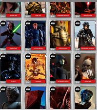 Topps Star Wars Digital Card Trader 2019 Base Wave 2 Silver Mixed Lot of 9 250c