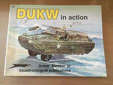 SQUADRON SIGNAL PUBLICATION 2035 - ARMOR 35 - DUKW