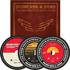 MUMFORD & SONS - LIVE IN SOUTH AFRICA: DUST AND THUNDER  3 DVD+CD NEU