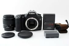 Canon EOS 30D 8.2MP Digital SLR Camera - Black + EF 35-80mm from japan Exc++++