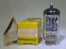 NOS/NIB Amperex Bugle Boy ECC83/12AX7 Long Plate Foil D-Getter 1957 mC5 Strong