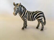 "Schleich Retired 2008 Zebra Female Figure 3"" tall"