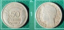 50 Centimes Morlon 1941, France, Aluminium, Pièce de Monnaie