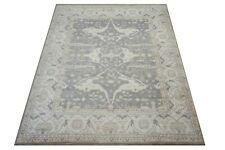 """12X15 Green-Gray Hand-Knotted Wool Area Rug Oriental Carpet (12'2"""" x 14'9"""")"""