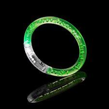 1 Green Led Light Up Flashing Bubble Bracelet Bangle Party Wristband Colourful
