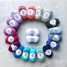 DROPS COTTON ARAN YARN - 100% Egyptian cotton 10ply Gifts knitting crochet 50g