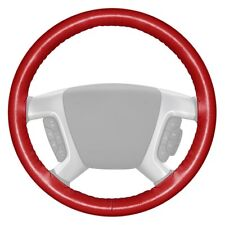 For Chevy Corvette 75-85 Wheelskins Original One-Color Red Steering Wheel Cover