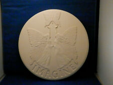 "12"" PolyStone Angel Stepping Stone, Display on Wall or Floor, Indoor or Outdoors"