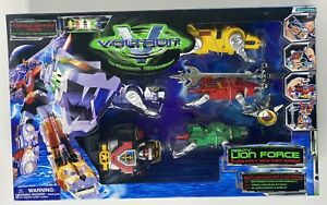 VTG VOLTRON Mighty Lion Force Trend Masters 1998 The Third Dimension NEW SEALED