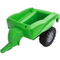BIG Trailer Rutscher Anhänger Rutschanhänger Zubehör Traktoranhänger  grün