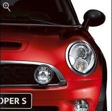 Mini Cooper Black Driving Lights Kit & Grill  2011-2013 R56 R57 OEM