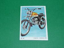N°20 MOTOCYCLETTE 50 CM3 FANTIC CABALL SS MOTO PARADE 1972 AMERICANA PANINI
