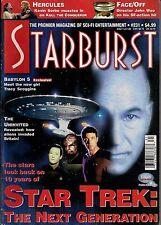 Starburst No.231 1997 STAR TREK NG 10TH ANNIVERSARY, KEVIN SORBO KULL,HERCULES