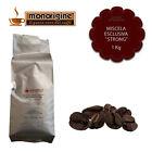 Caffè in Grani Miscela Esclusiva Strong 1 Kg - Caffè Monorigine