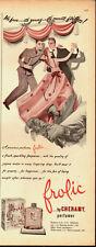 1942 Vintage ad for frolic by CHERAMY perfumer`Art (031914)