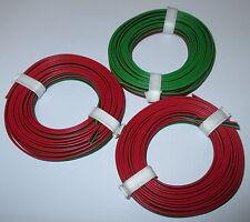 [1m = 0,53 €] drillingslitze 3x5m roco rojo-negro-verde * nuevo *