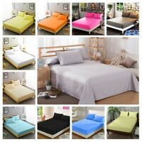 Amour Calin 200TC Luxury Bedding 100% Egyptian Cotton Flat Sheet