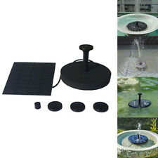 Floating Solar Powered Pond Garden Water Pump Fountain Kits Bird Bath Fish Tank