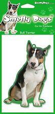 Bull Terrier (Tri Color) Regalo - 2 X encantador Ambientador coche para los amantes del perro