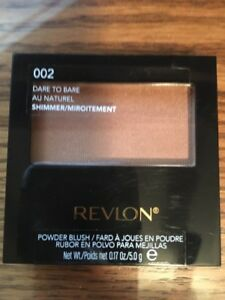 NEW   Revlon  POWDER  BLUSH   SHIMMER    002 DARE TO BARE  Sealed