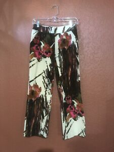 VINTAGE VERSACE JEANS COUTURE  WOMAN PANTS SIZE 24/38 MADE IN ITALY TROUSERS