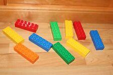 Lego Duplo - 10 EXTRA lange Bausteine, 2x6 Noppen, 12er Baustein gemischt 2300