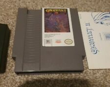 Gauntlet 2 Nintendo Nes Game With Manual - NTSC USA- Fully Cleaned & Tested
