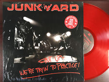 JUNKYARD - SHUT UP-We're tryin' to Practice LP Live at The Palace Hollywood 1989