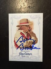 Bobby Bowden Signed 2013 Allen & Ginter Card Florida State Seminoles