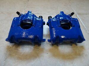 Bremssättel VW Polo 86C blau Golf 1 2 Lackiert Bremsanlage vorne Bremse