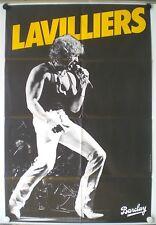 BERNARD LAVILLIERS – AFFICHE ORIGINALE – STAND THE GHETTO - TRES RARE - 1980
