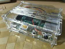 Carcasa Caja DIY case enclosure  Raspberry PI 3  Metacrilato + Kit pulsador RUN