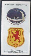 HIGNETT-INTERNATIONAL CAPS AND BADGES-#20- SCOTLAND ASSOCIATION FOOTBALL