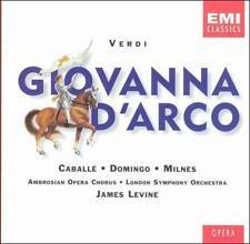 Verdi - Giovanna d'Arco Joan of Arc/ Caball  Domingo  Milnes  LSO  Levine