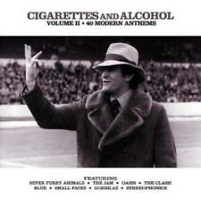Cigarettes & Alcohol: VOLUME II;40 MODERN ANTHEMS CD 2 discs (2001) Great Value